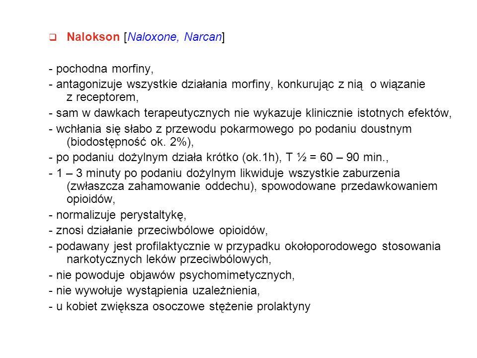 Nalokson [Naloxone, Narcan]